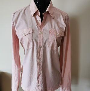 Hugo Boss Slim Fit-X Pink Shirt Size Medium